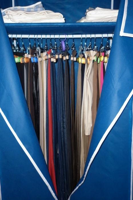 Doce armarios elegante a la par que discreta - Armario tela leroy merlin ...