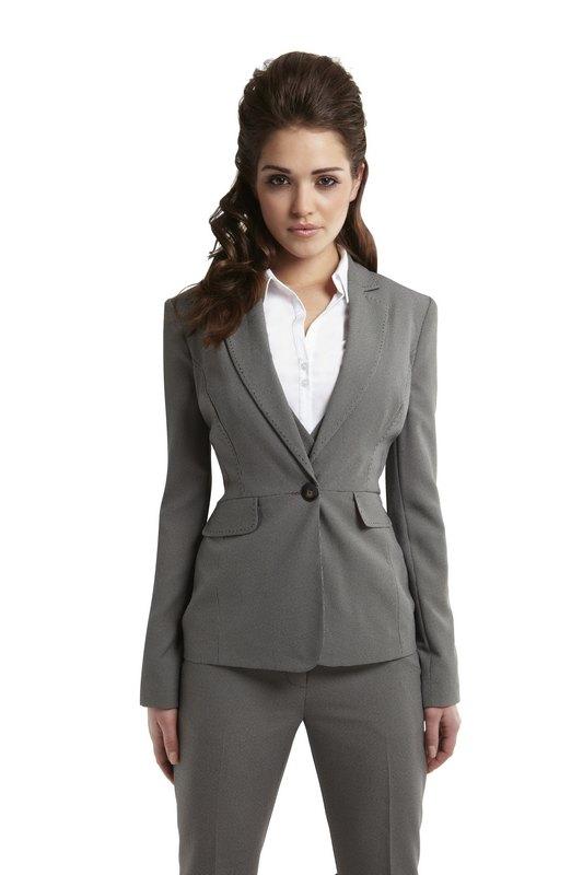 Abrigo gris mujer primark