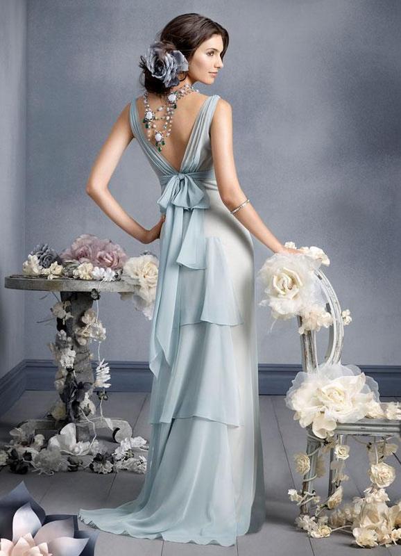 vestido novia azul 2