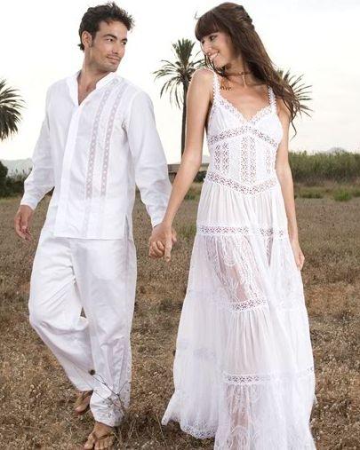 Vestidos ibicencos elegante a la par que discreta - Ropa estilo ibicenco ...