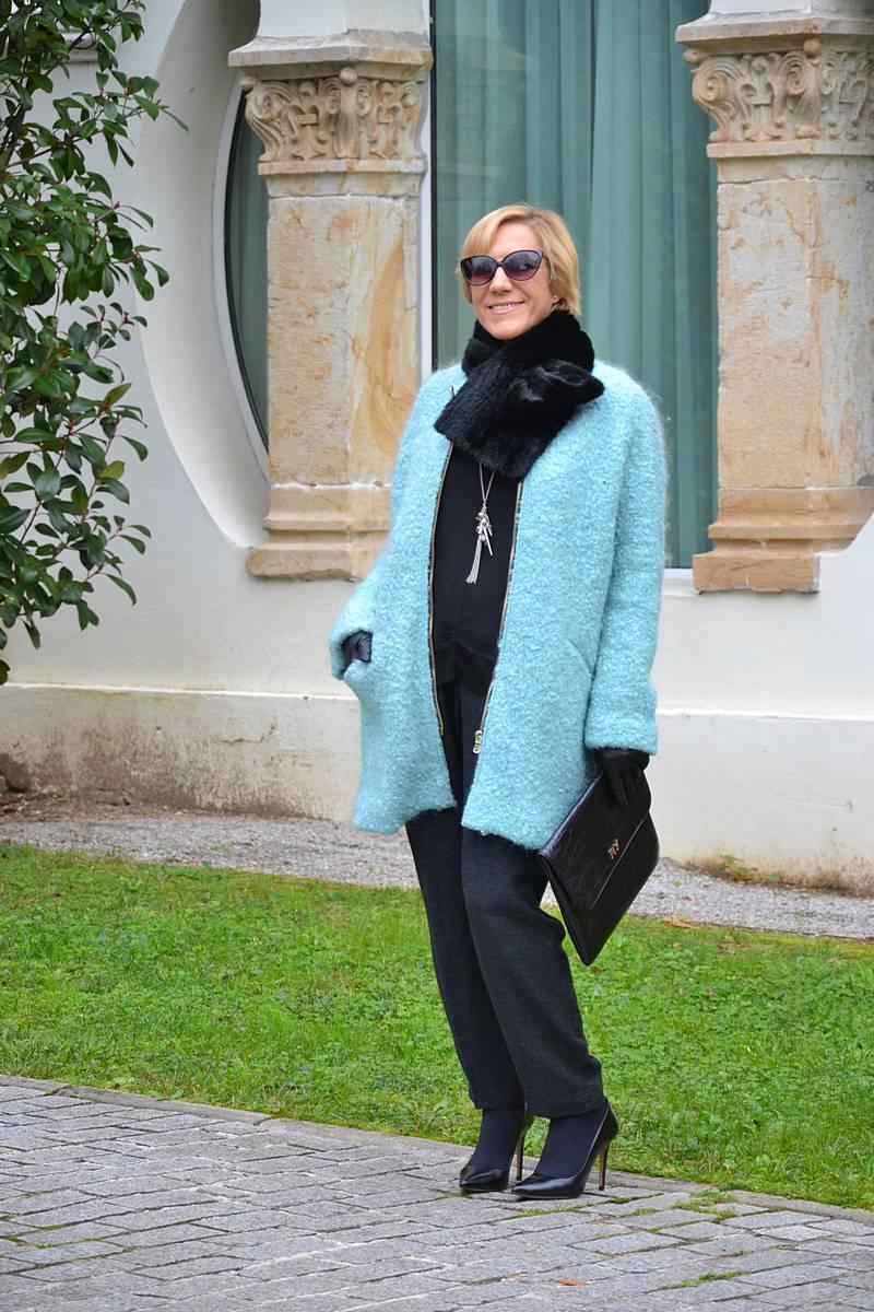 Elegante la Abrigo par que a discreta Aguamarina – erdWQxCBo