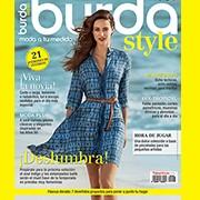 Portada del Burda Style de marzo 2015