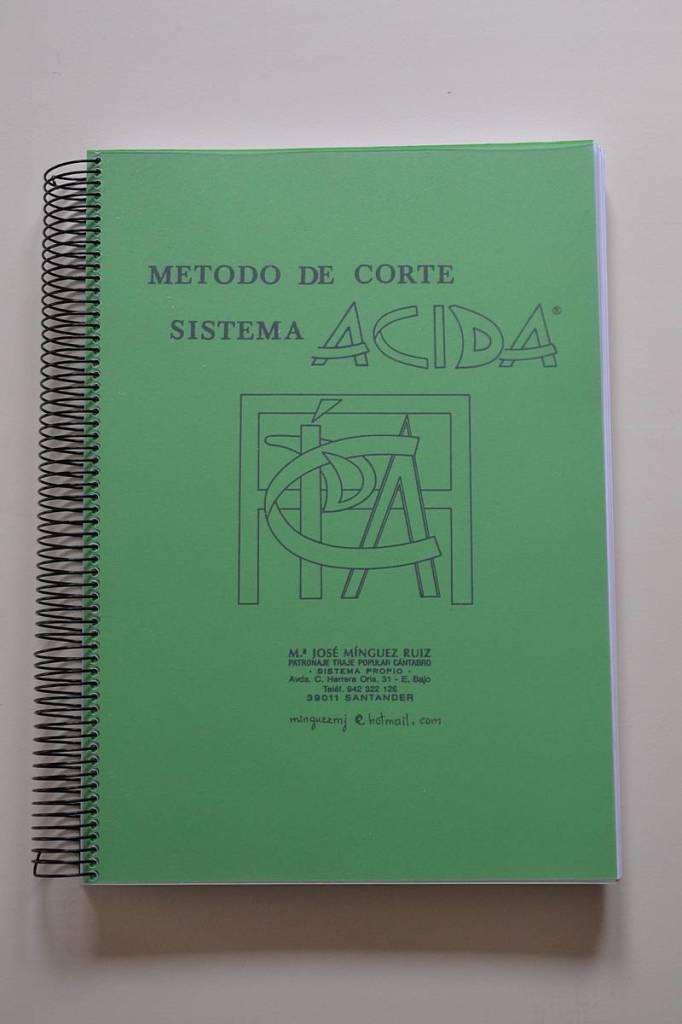 Sistema ACIDA de la Academia  de Corte y Confección de María José Mínguez