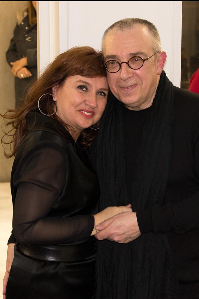 Luis Alonso y Beda Herrezuelo