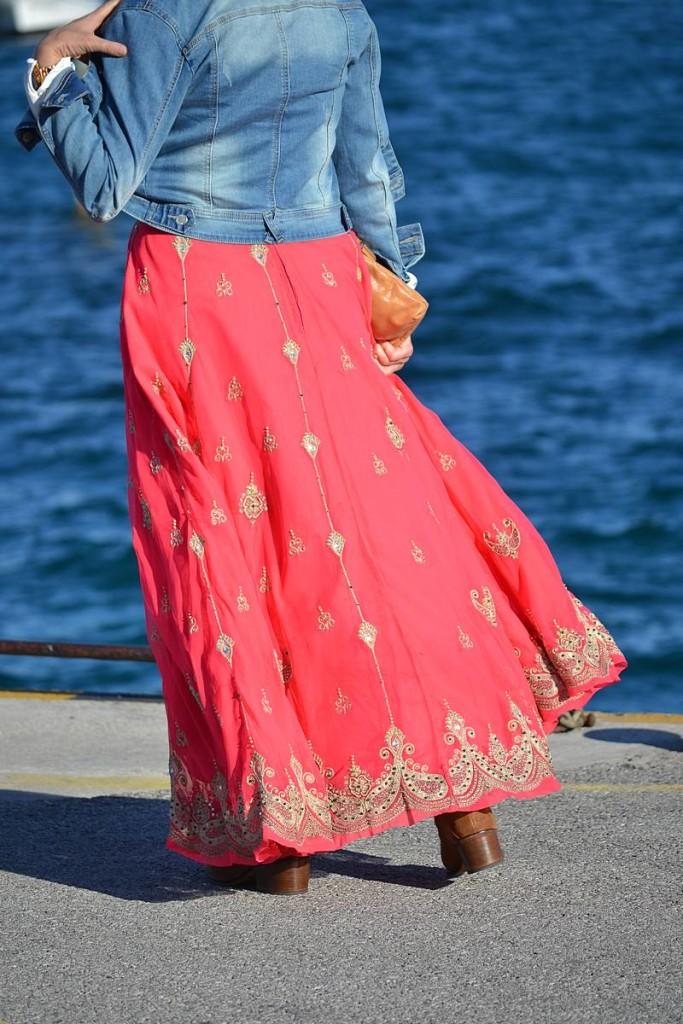 Falda India y Denim de La Envidia Sana 03