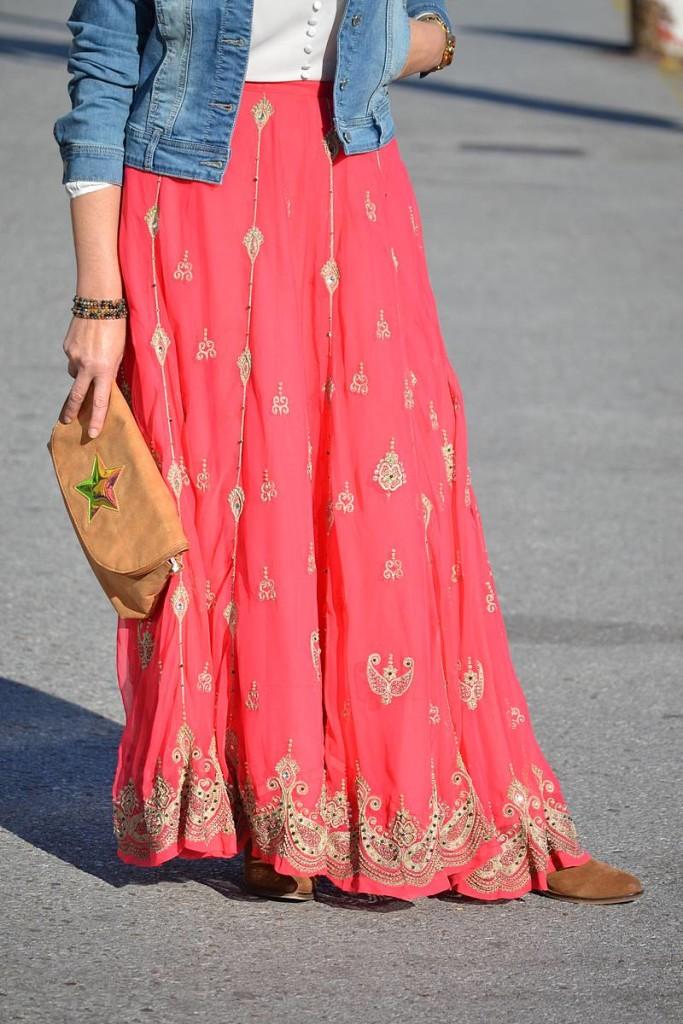 Falda India y Denim de La Envidia Sana 00