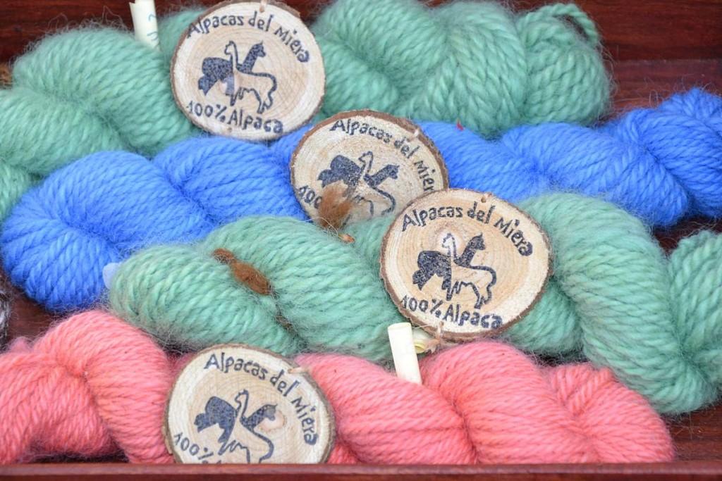 Alpacas del Miera de colores