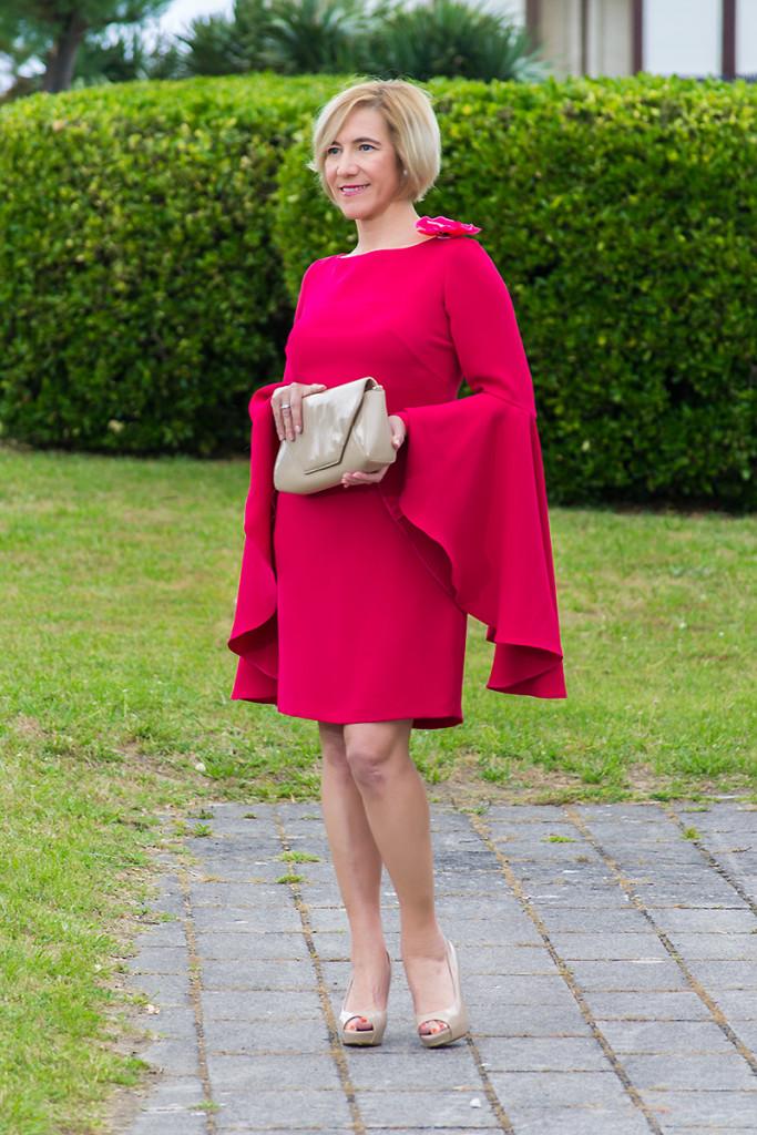 Vestido Rosa de Punto y Aparte 01