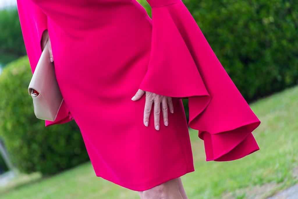 Vestido Rosa de Punto y Aparte 04