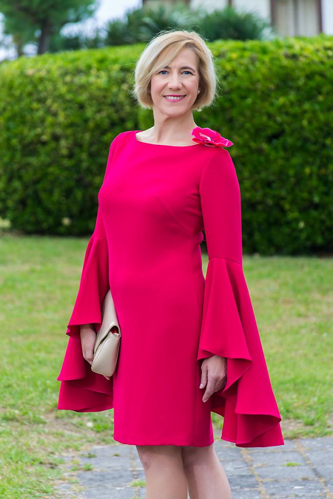 Vestido Rosa de Punto y Aparte 07