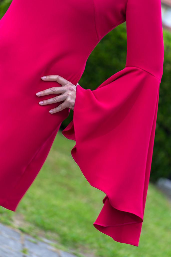 Vestido Rosa de Punto y Aparte 10