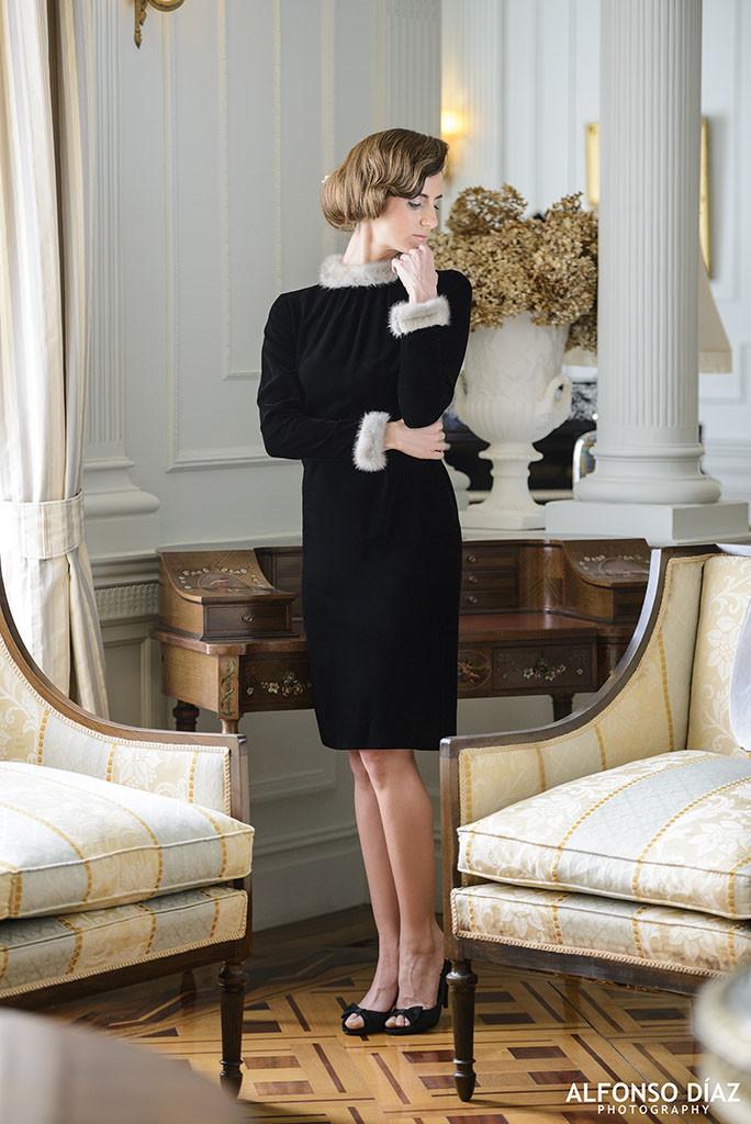 Colección Magdalena Vintage, Petit robe noir de Coco Chanel, fotografía de Alfonso Díaz