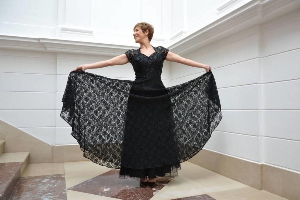 Colección Magdalena Vintage, Vestido de Frank Starr, fotografía de Carolina Rodríguez, modelo Marta Moro 02