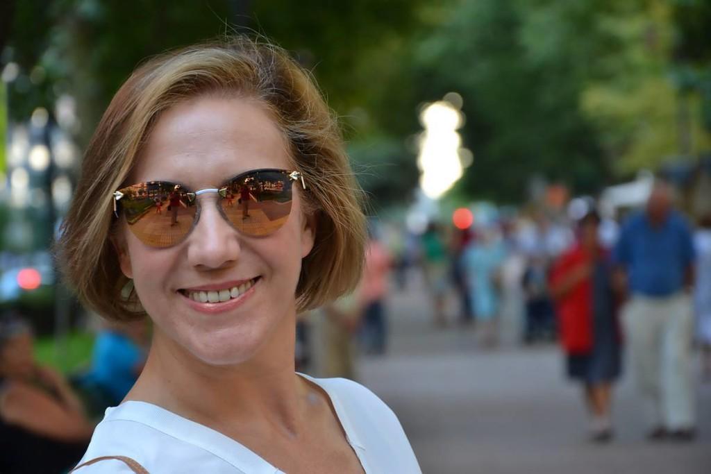 Falda Danire  gafas Fendi de Central Óptica 03