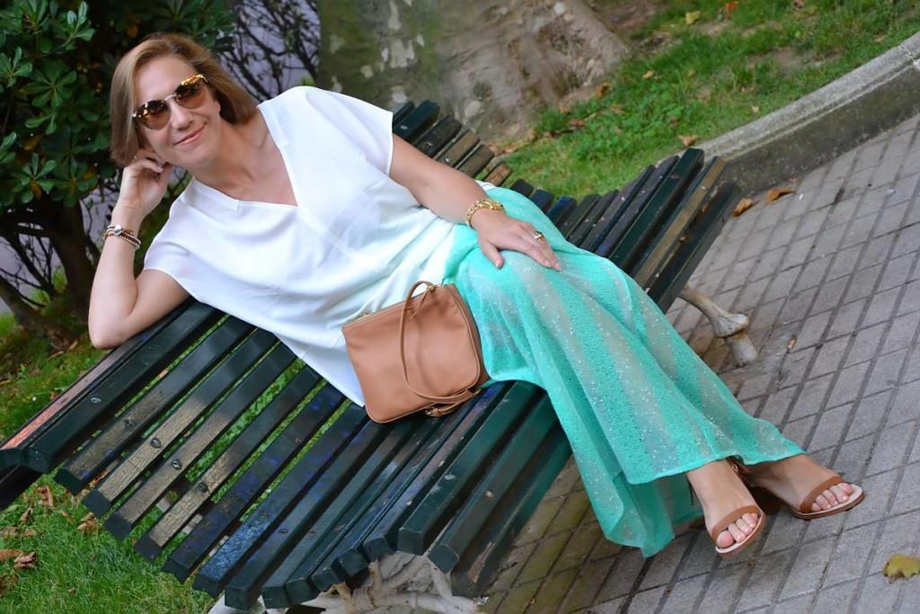 Falda Danire  gafas Fendi de Central Óptica 04