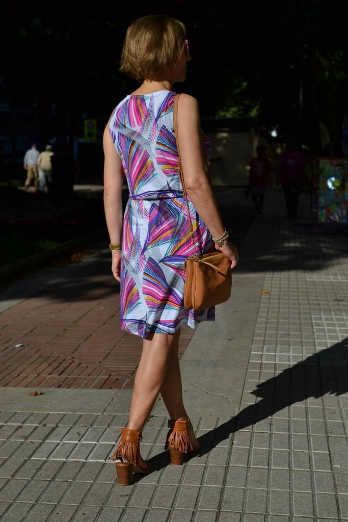 Vestido corto estampado de Danire 02