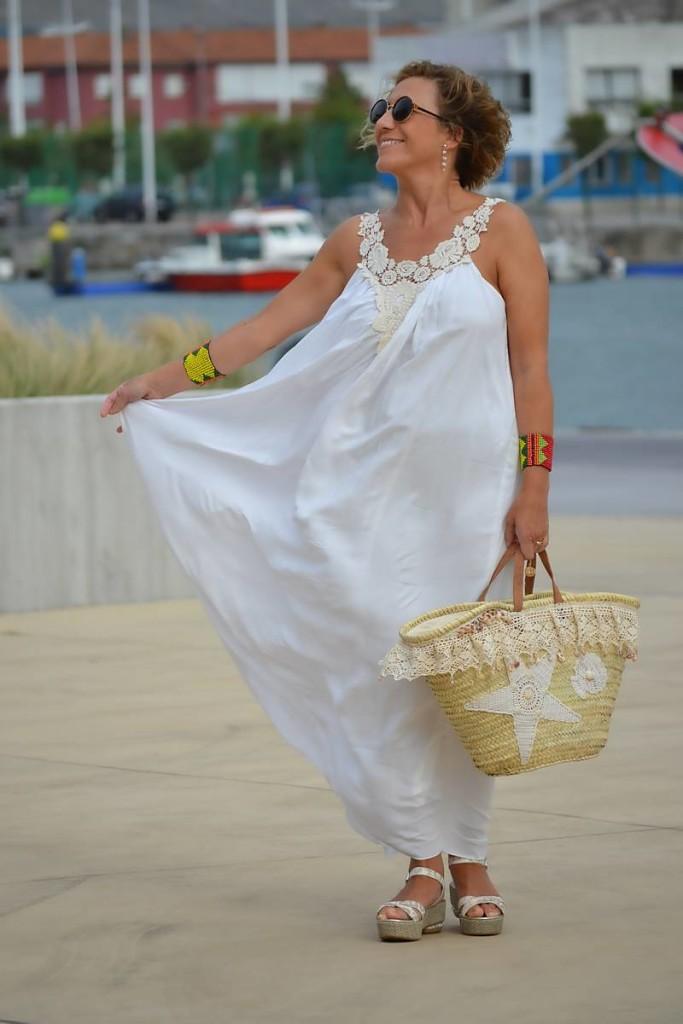 Vestido Blanco Largo 01