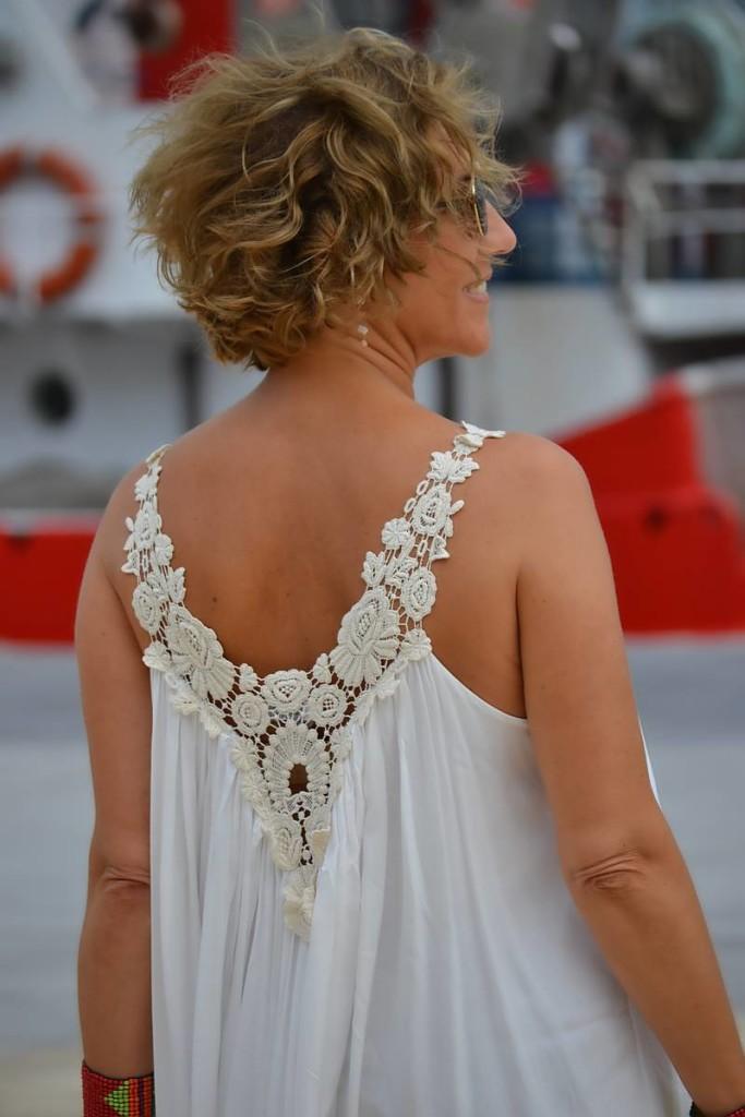 Vestido Blanco Largo 02