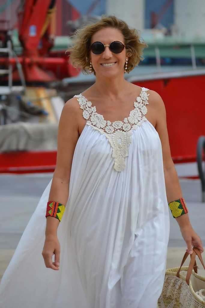 Vestido Blanco Largo 04