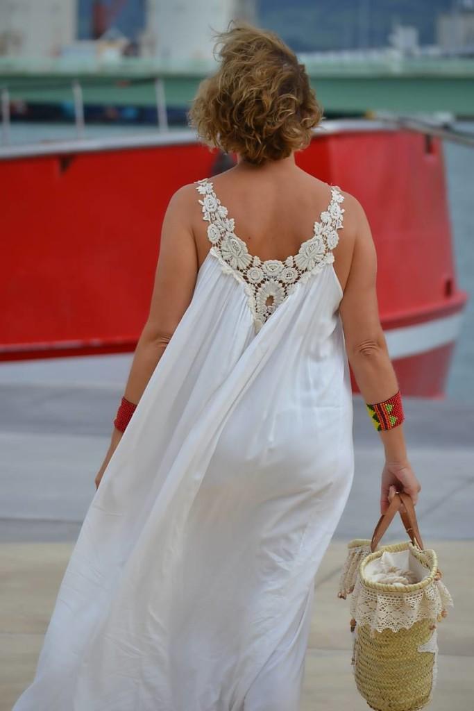 Vestido Blanco Largo 06