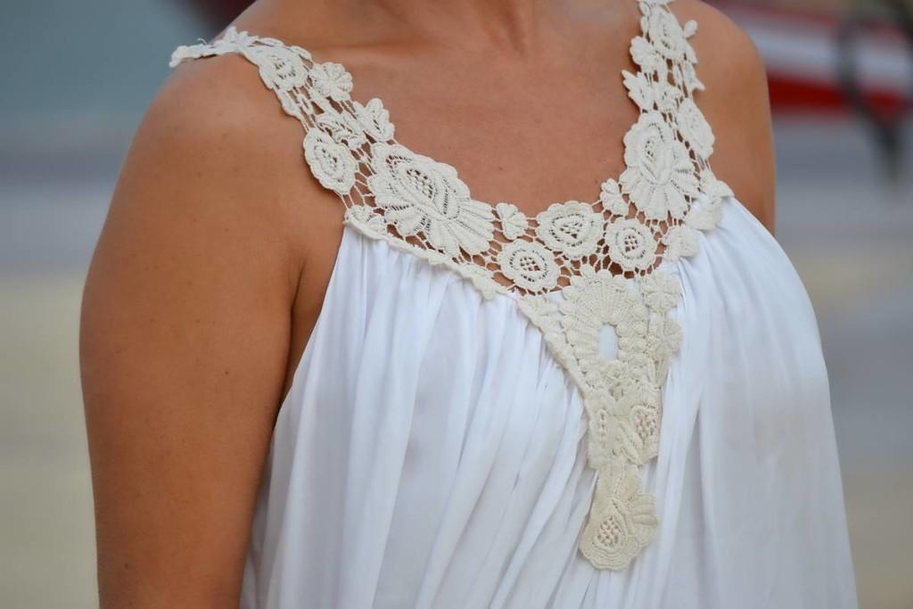 Vestido Blanco Largo 07