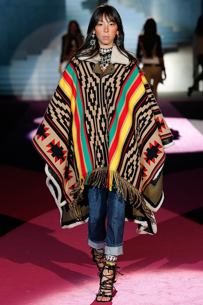 Dsquared2 15-16 Poncho