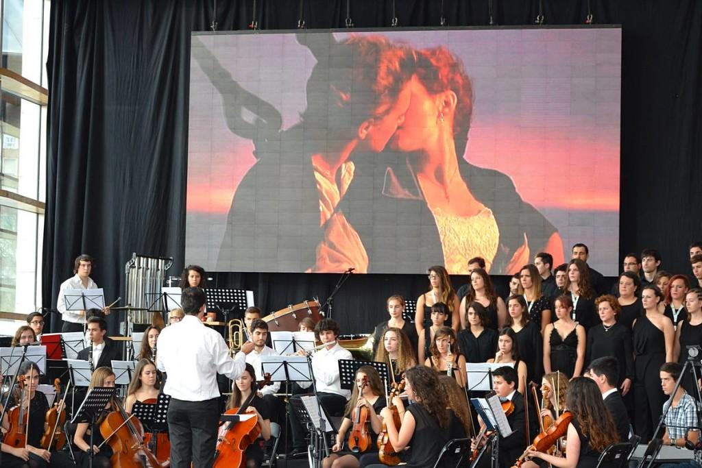 Concierto de la Joven Orquesta Ataulfo Argenta de temas de la película Titanic
