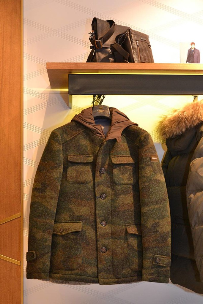 Florentino, chaquetón camuflaje