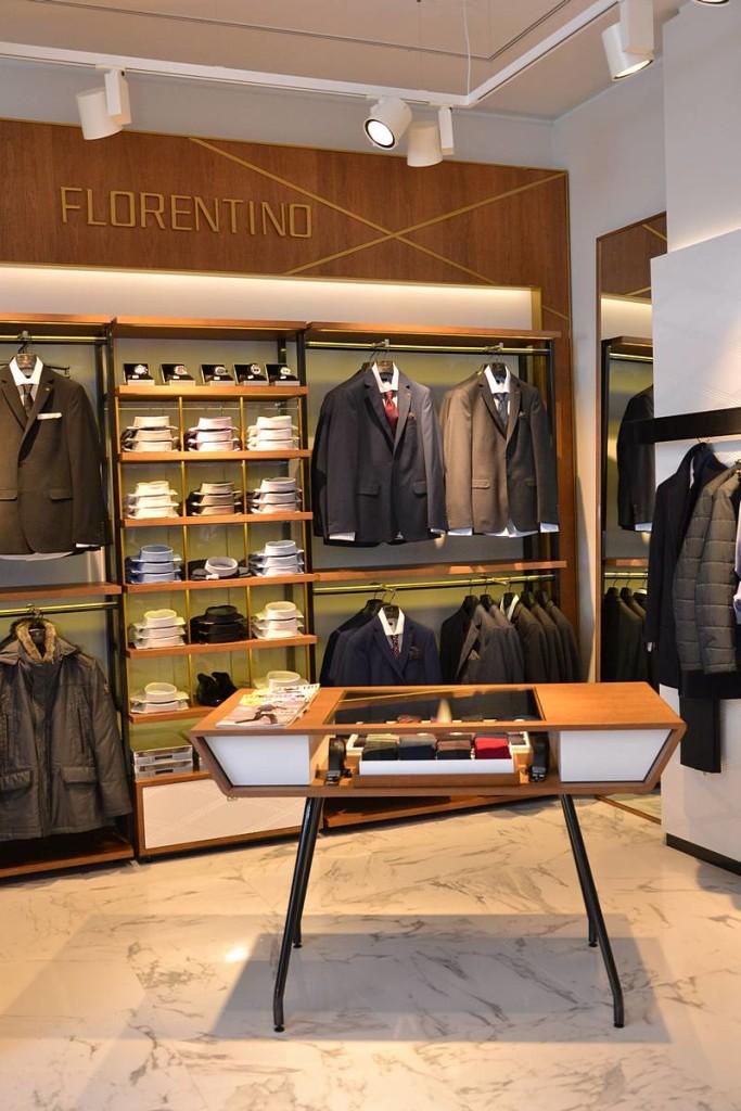 Florentino, tienda Santander
