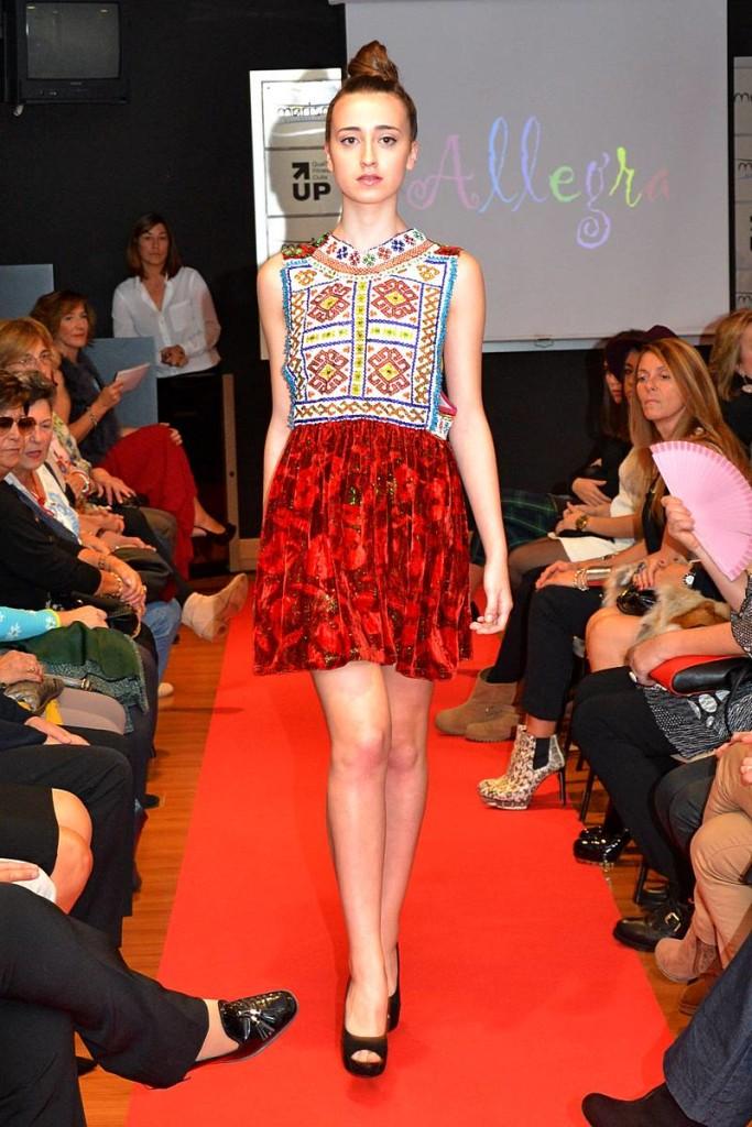 Fashion Week Marisma. Desfile Allegra 02