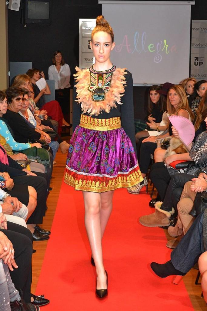 Fashion Week Marisma. Desfile Allegra 03