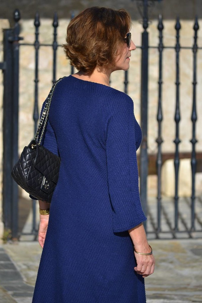 Gema Nájera, vestido azul 02