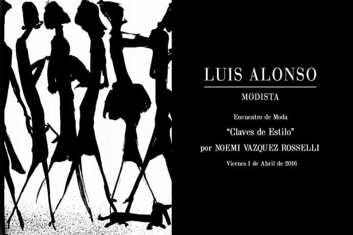 Onvitación para Noemí Vázquez Rosselli en Luis Alonso Modista