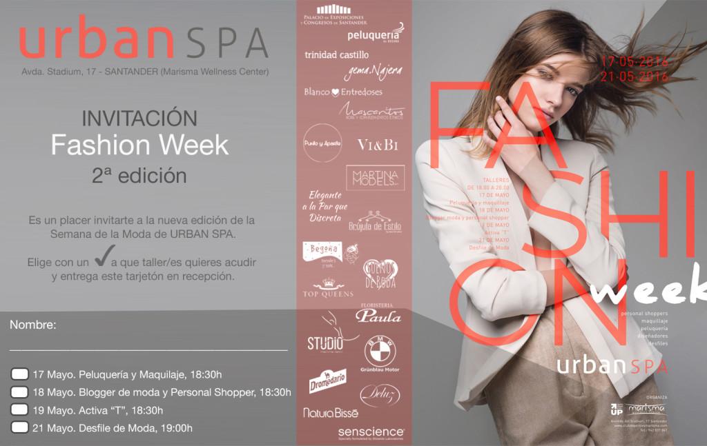INVITACIÓN II Fashion Week Marisma
