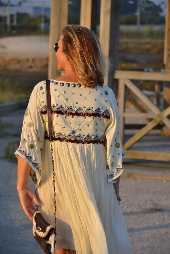 Vestido étnico de Punto y Aparte 03