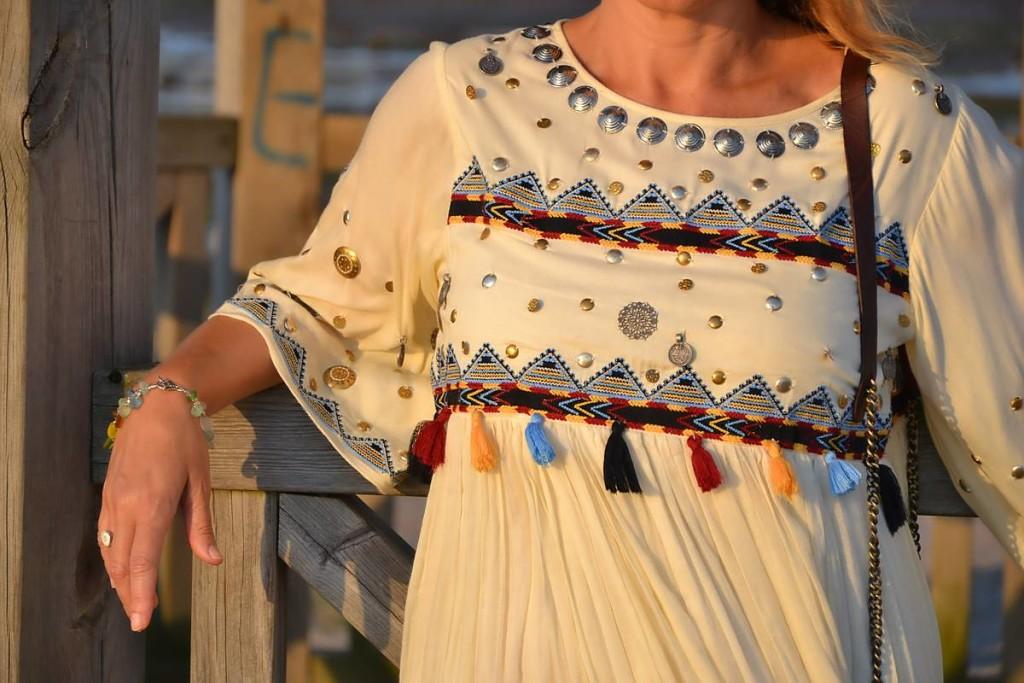 Vestido étnico de Punto y Aparte 04